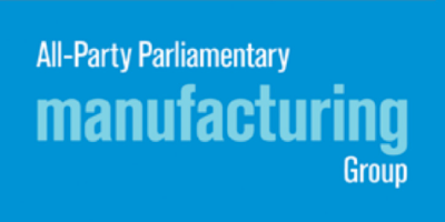 Optima UK Partner logo for The All-Party Parliamentary Manufacturing Group (APMG)